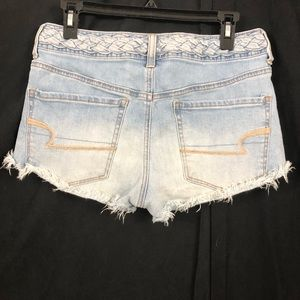 American Eagle Outfitters Shorts - American Eagle   Braided Waist. Hi-Rise Shortie